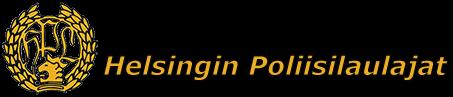 Helsingin Poliisilaulajat Logo