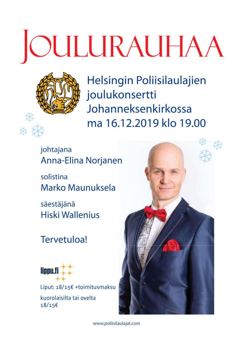 Joulukonsertti 2019_juliste
